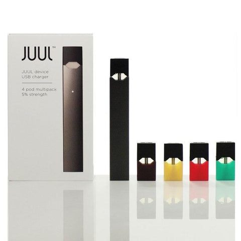 Central Vape City - Kits - JUUL - STARTER KIT (INCLUDES MULTI JUULPOD 4-PACK)