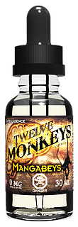 Central Vape City - Juice - Twelve Monkeys - Mangabeys