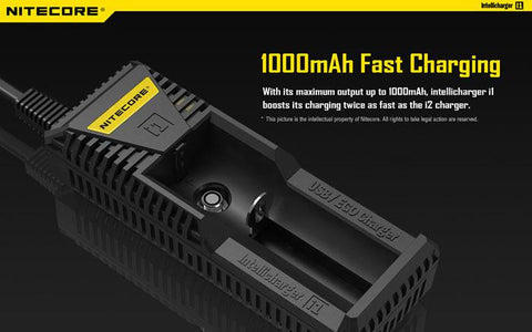 Central Vape City - Accessories - Nitecore Universal Charger - I1