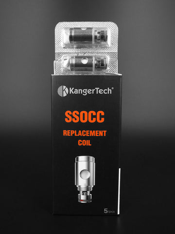 Central Vape City - Coils - Kangertech Vertical SSOCC Heating Coil - 0.5 ohms