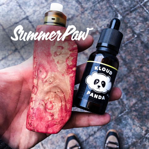 Central Vape City - Juice - Kloud Panda - Summer Paw