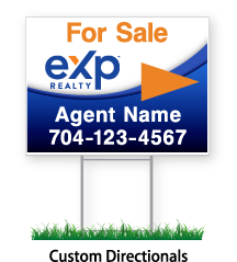 """eXp sign For Sale """"Agent Name & Phone #"""""""