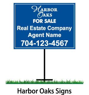 harbour oaks signs