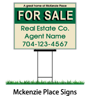 mckenzie place signs