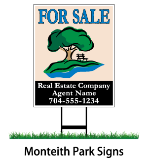 monteith park signs