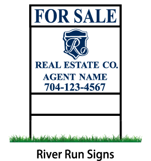 river run signs