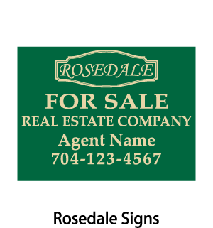 rosedale commons signs