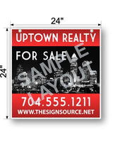 Hanging Real Estate Sign