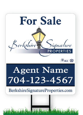 Berkshire Signature Properties Real Estate Signs