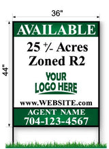 "Commercial Site Sign - Large 44"" x 36"""