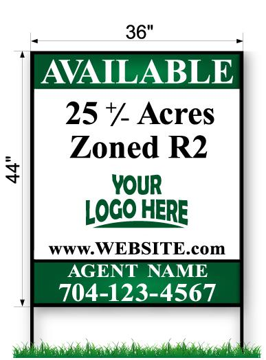 Commercial Site Sign - Large 44