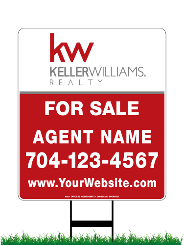 28 x 24 keller williams real estate sign