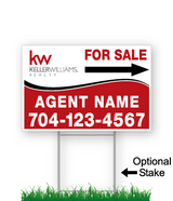 Keller Williams Directional Signs