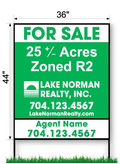 LKN Realty Commercial Sign - Large 44