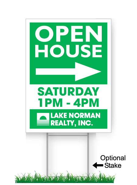 LKN Realty Open House Directionals