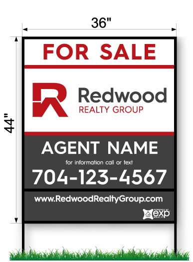 Redwood Commercial Sign - 44