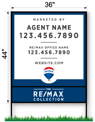 REMAX Commercial Sign - Large 44