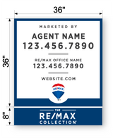 "REMAX Commercial Sign - Large 44"" x 36"""