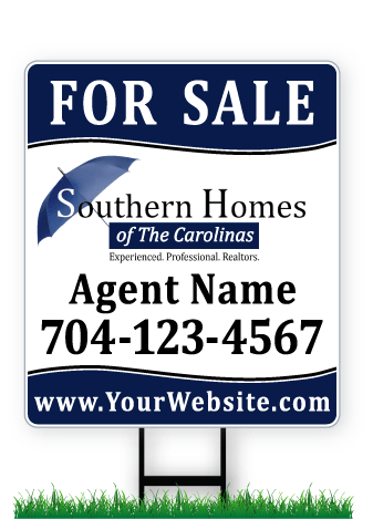 28 x 24 Southern Homes real estate sign