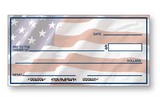 Large Presentation Check American Flag Background