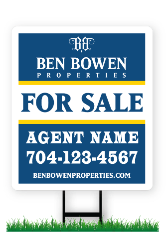 Ben Bowen Real Estate Signs