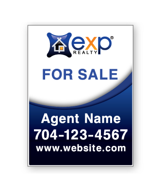 eXp Realty Window Signs