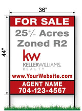 "KW Commercial Sign - Large 44"" x 36"""