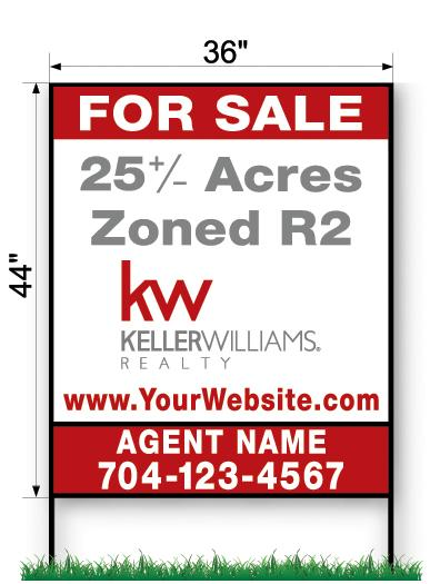KW Commercial Sign - Large 44
