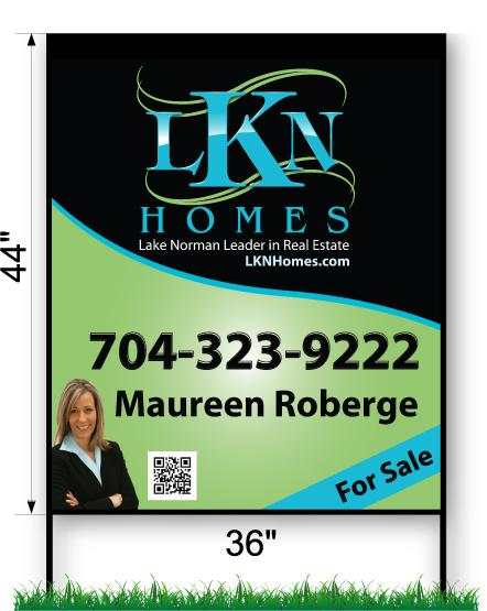 LKN Homes Commercial Sign - Large 44
