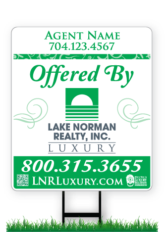 28 x 24 Lake Norman Realty real estate sign