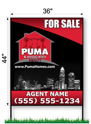 PUMA Commercial Sign - Large 44