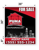 "PUMA Commercial Sign - Large 44"" x 36"""