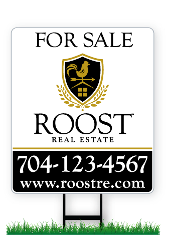 28 x 24 ROOST real estate sign