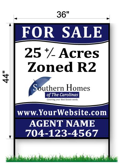 Southern Homes Commercial Sign - Large 44