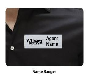 Wilson Realty - Name Badge