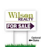 wilson realty directional signs