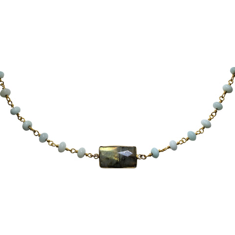 Sky Lab Short Necklace