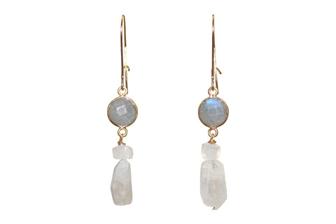 LabMoon Drop Earrings