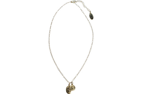 Gold Fill Miraculous Guadeloupe Necklace