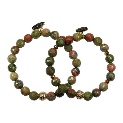 8mm Ukanite Bracelet