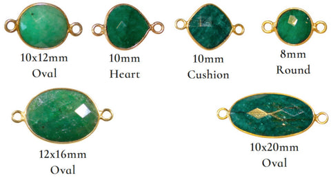 Emerald Mae Bracelet (*NEW: Customize Your Pendant*)
