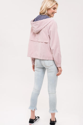 Light Rose Hoodie Jacket