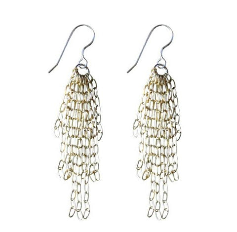 Gold Fill Dangling Earrings