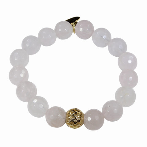 10mm Rose Quartz Bracelet