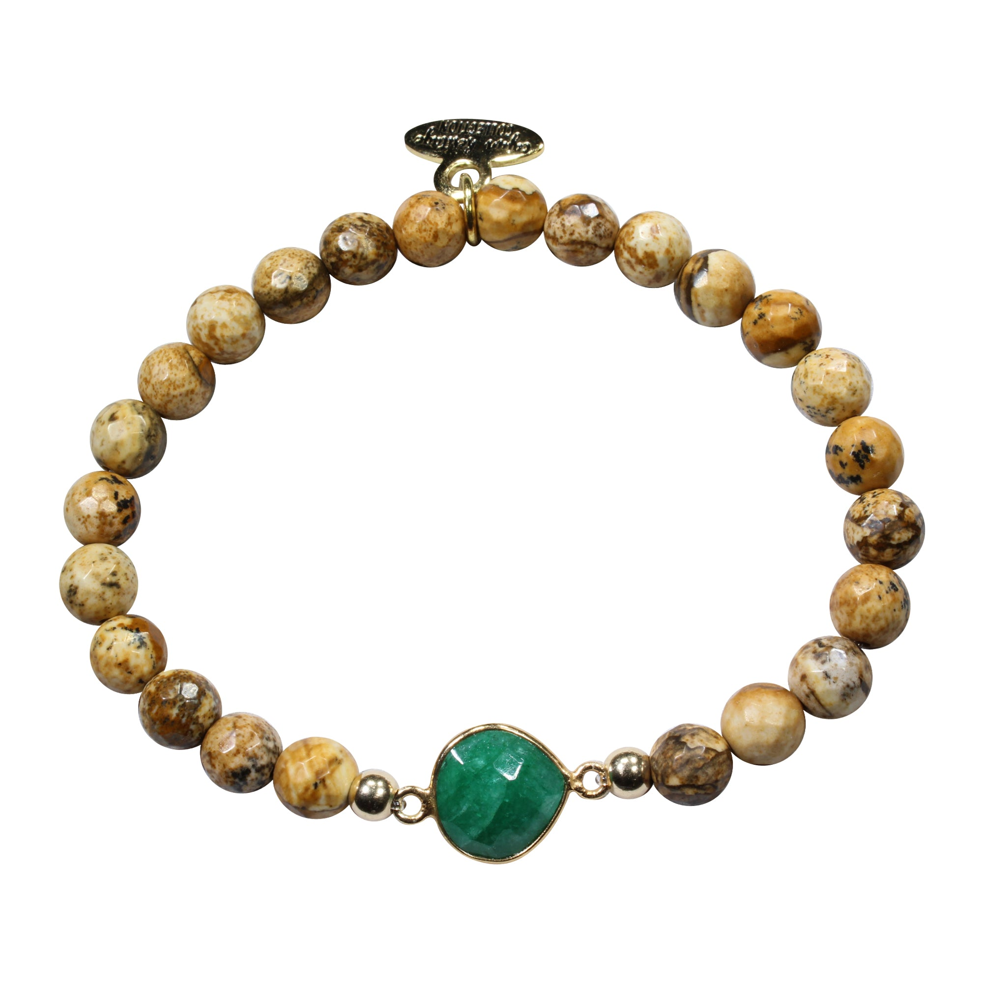 by products love girl friendship gold you emerald bracelet sunday amy i