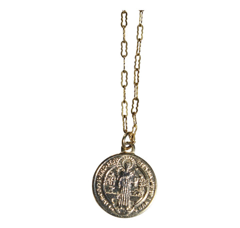 Gold Fill St. Benedict Necklace