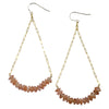 Sunstone Dangle Earrings