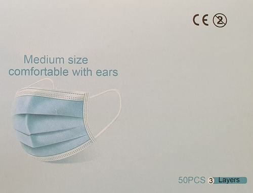 3 Ply Medical Mask