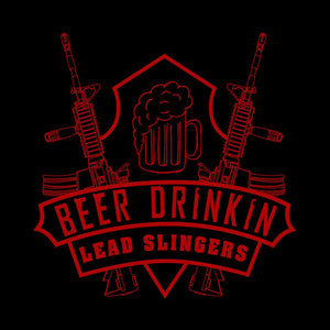 Beer Drinkin Lead Slingers Logo Shirt - FINAL CLOSEOUT-