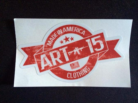 Article 15 Clothing Sticker